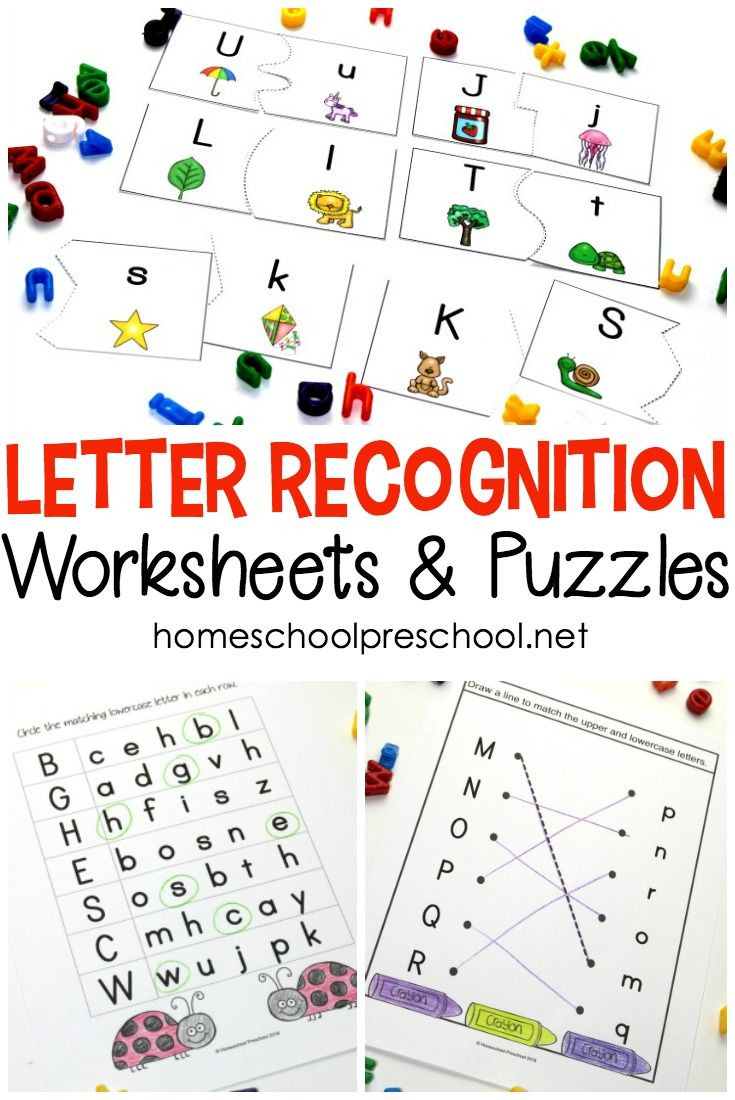 Preschool Letter Recognition Worksheets Free Printable Alphabet Worksheets for Preschoolers