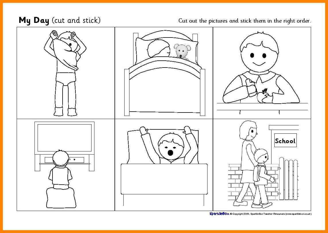 Preschool Sequencing Worksheets Worksheets Sequencing events