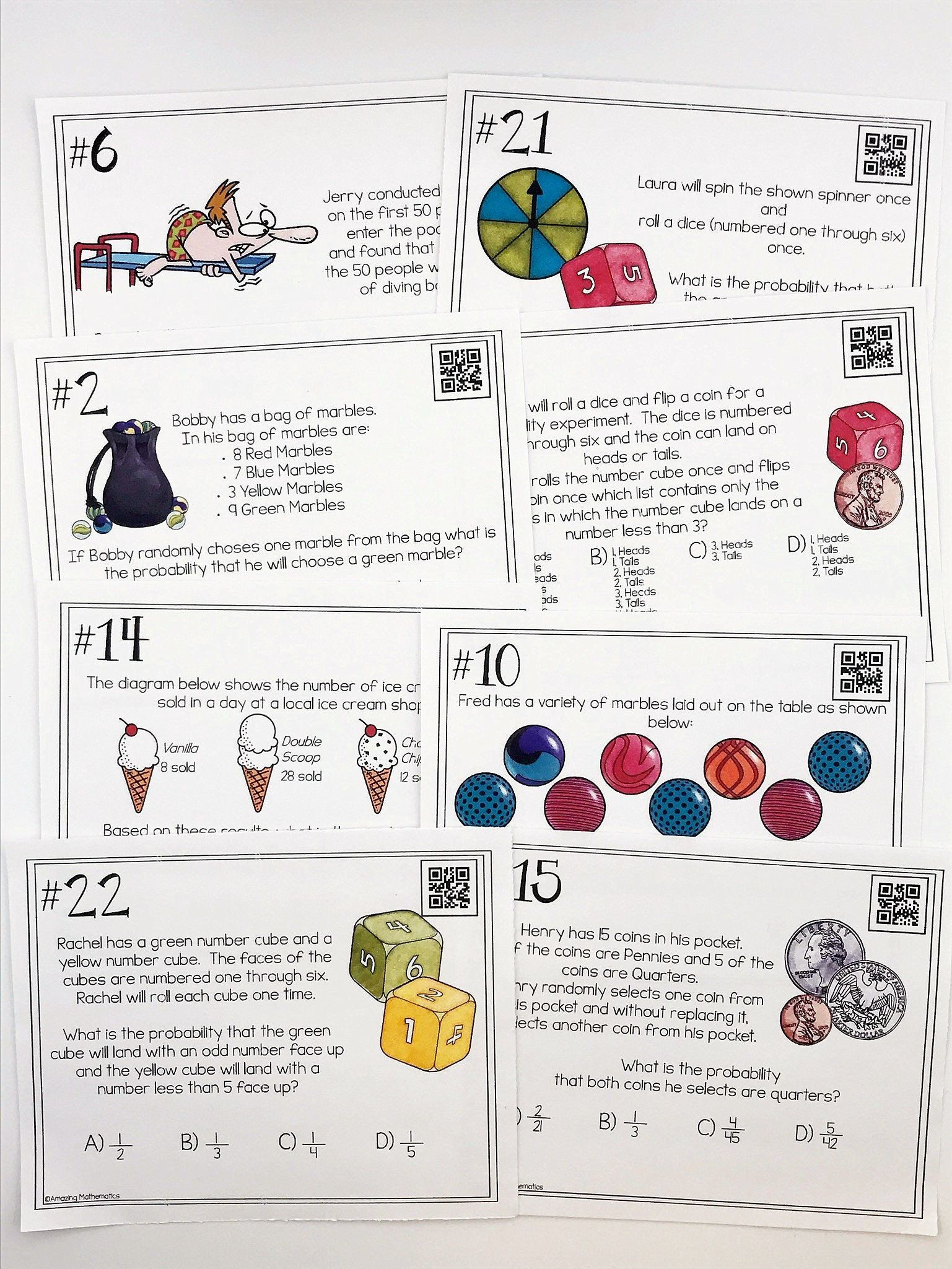 Probability Worksheets 7th Grade Pdf Pin On Printable Blank Worksheet Template