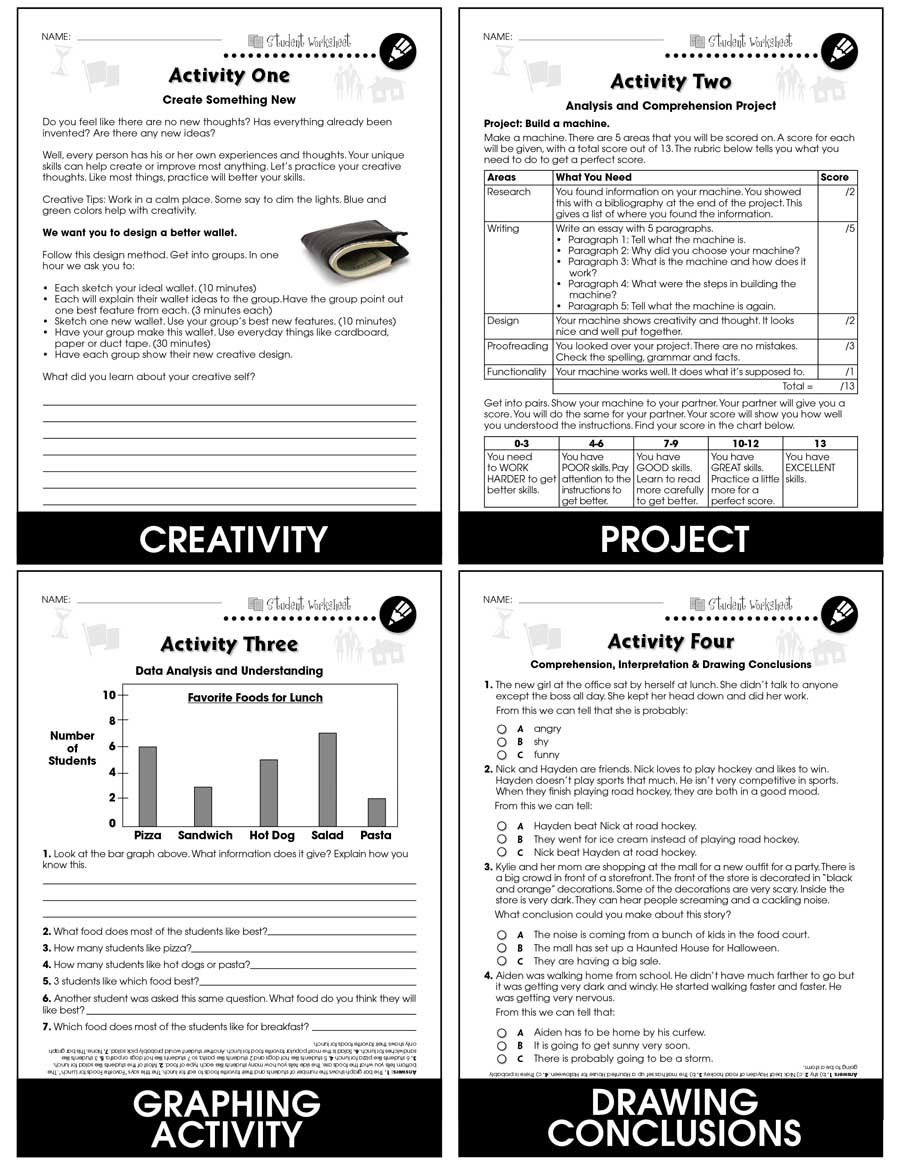Problem solving Skills Worksheets 21st Century Skills Learning Problem solving Bonus