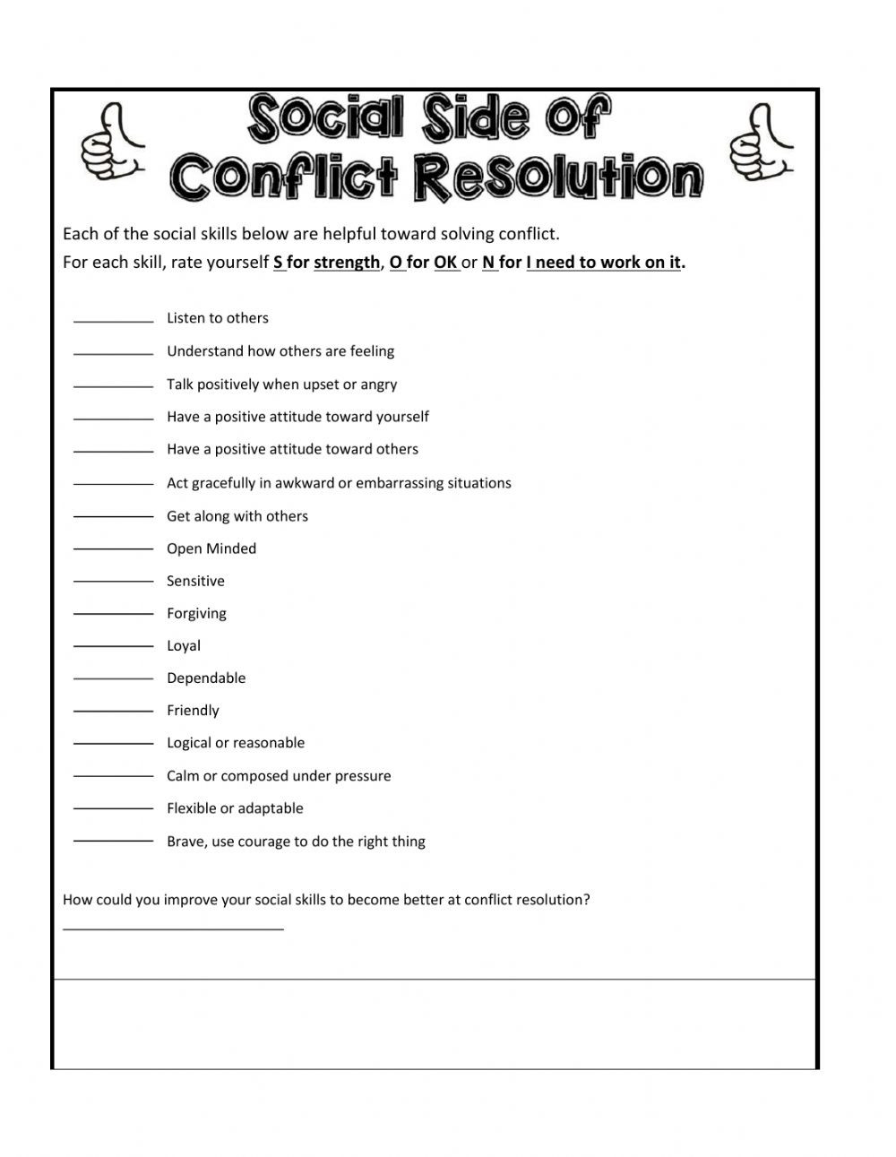 Problem solving Skills Worksheets solving Problems Interactive Worksheet