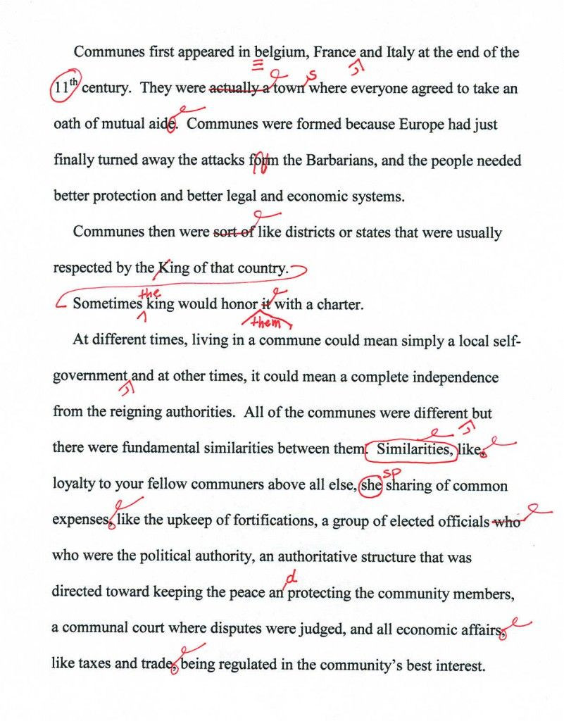 Proofreading Marks and How to Use Them Grammar Tutorial in