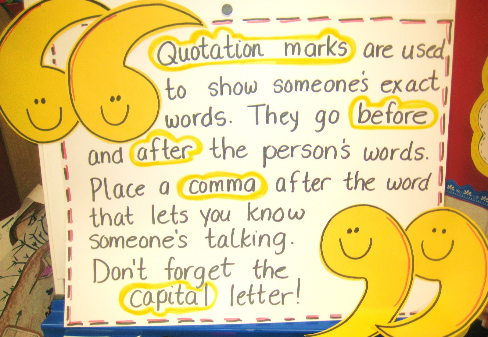 Quotation Worksheets 4th Grade Quotation Marks Lessons Tes Teach