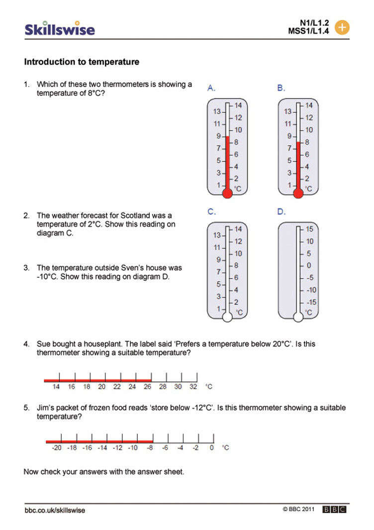 Read A thermometer Worksheet Luxury Measuring Temperature Worksheet