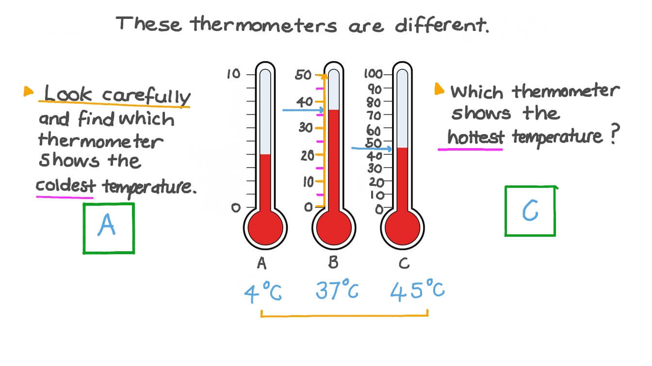 Read A thermometer Worksheet Measuring Temperature In Celsius Reading thermometers with Different Scales