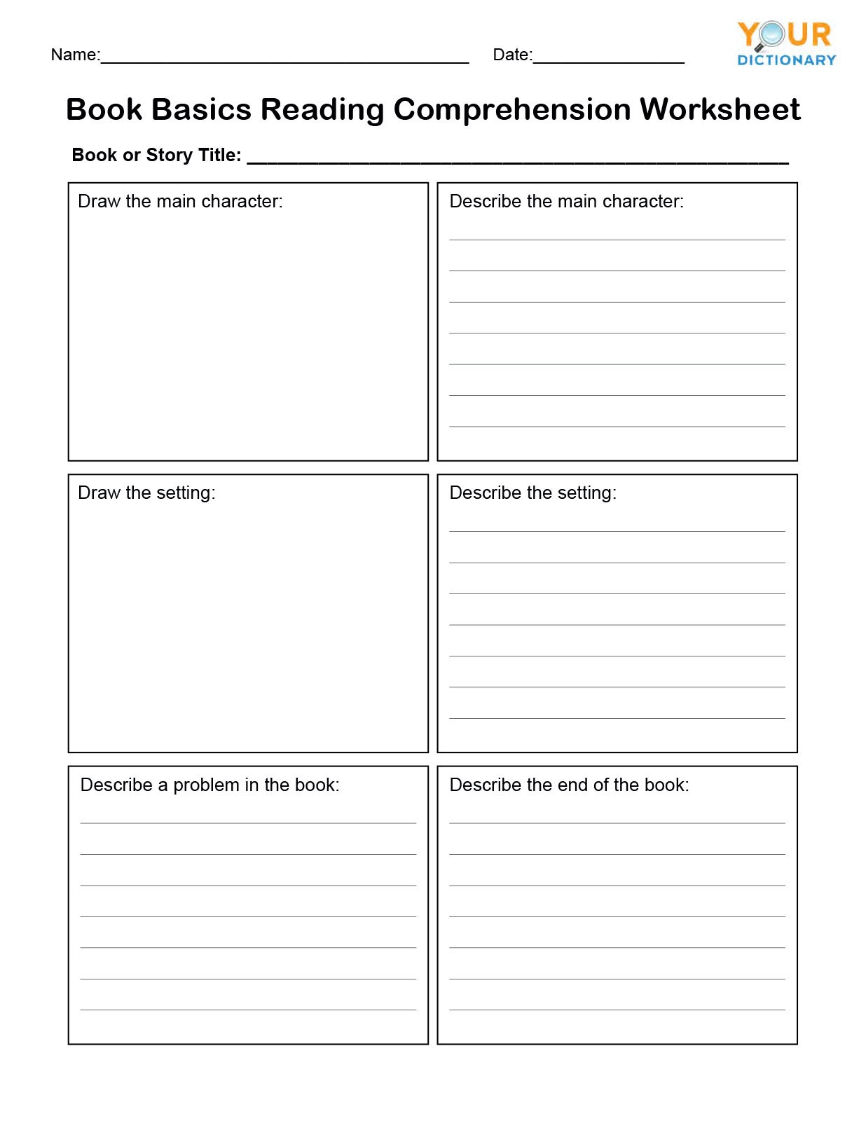 Read and Respond Worksheets 1st Grade Reading Prehension Tests & Worksheets