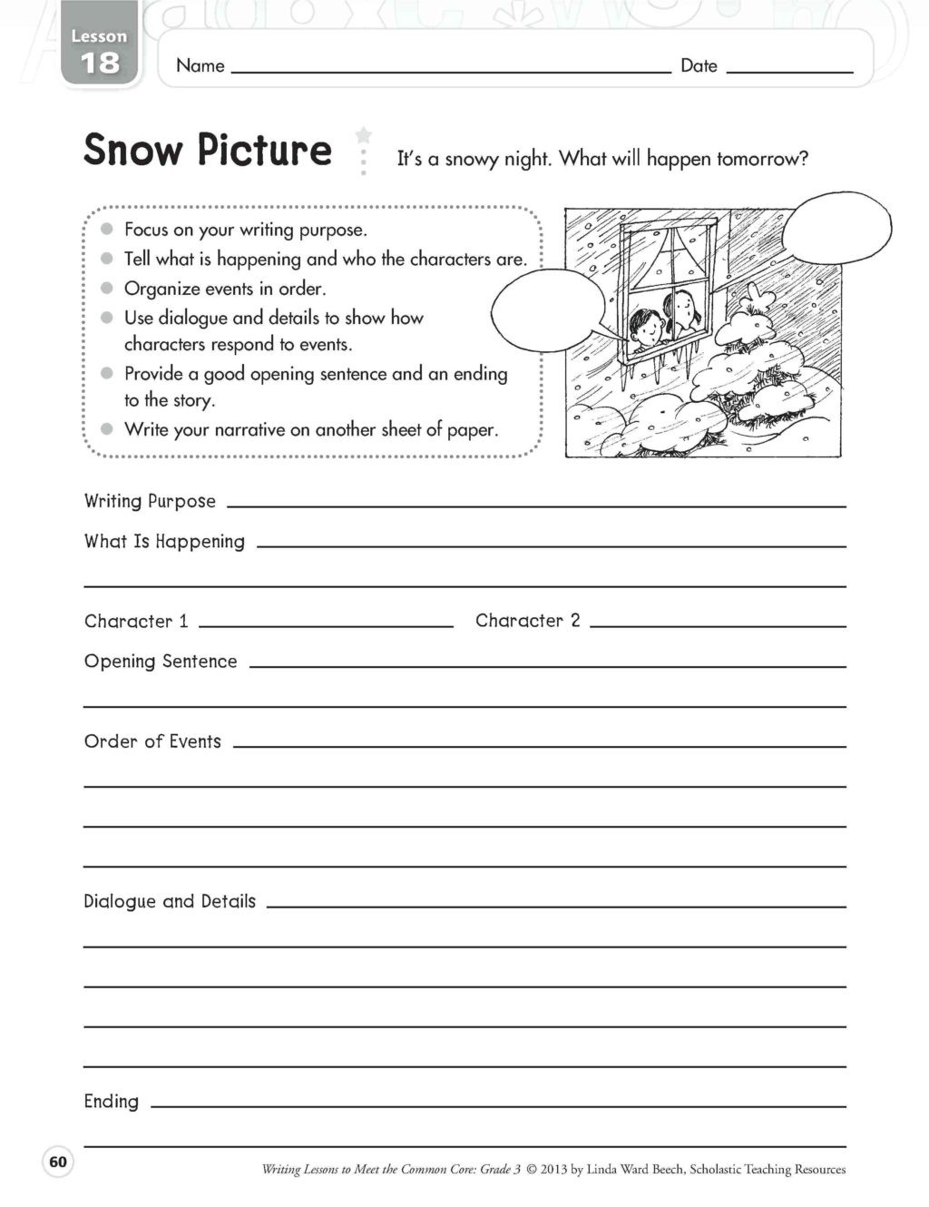 Read and Respond Worksheets Worksheet Writing Practice for 4th Grade Best Ideas