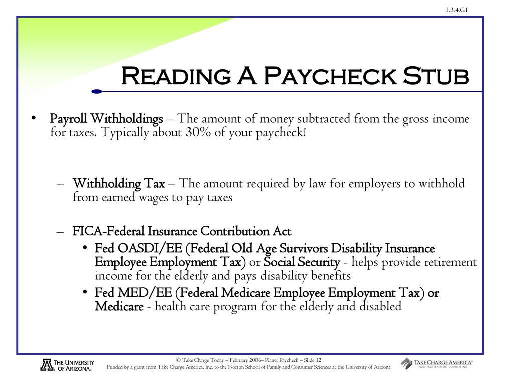 Reading A Pay Stub Worksheet An Earthlings Guide to Understanding Paychecks Ppt