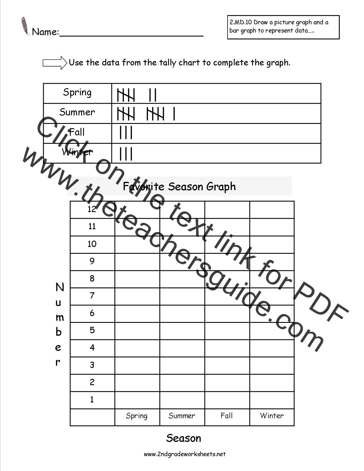 Reading A Spring Scale Worksheet Ccss 2 Md 10 Worksheets Represent and Interpret Data Worksheets