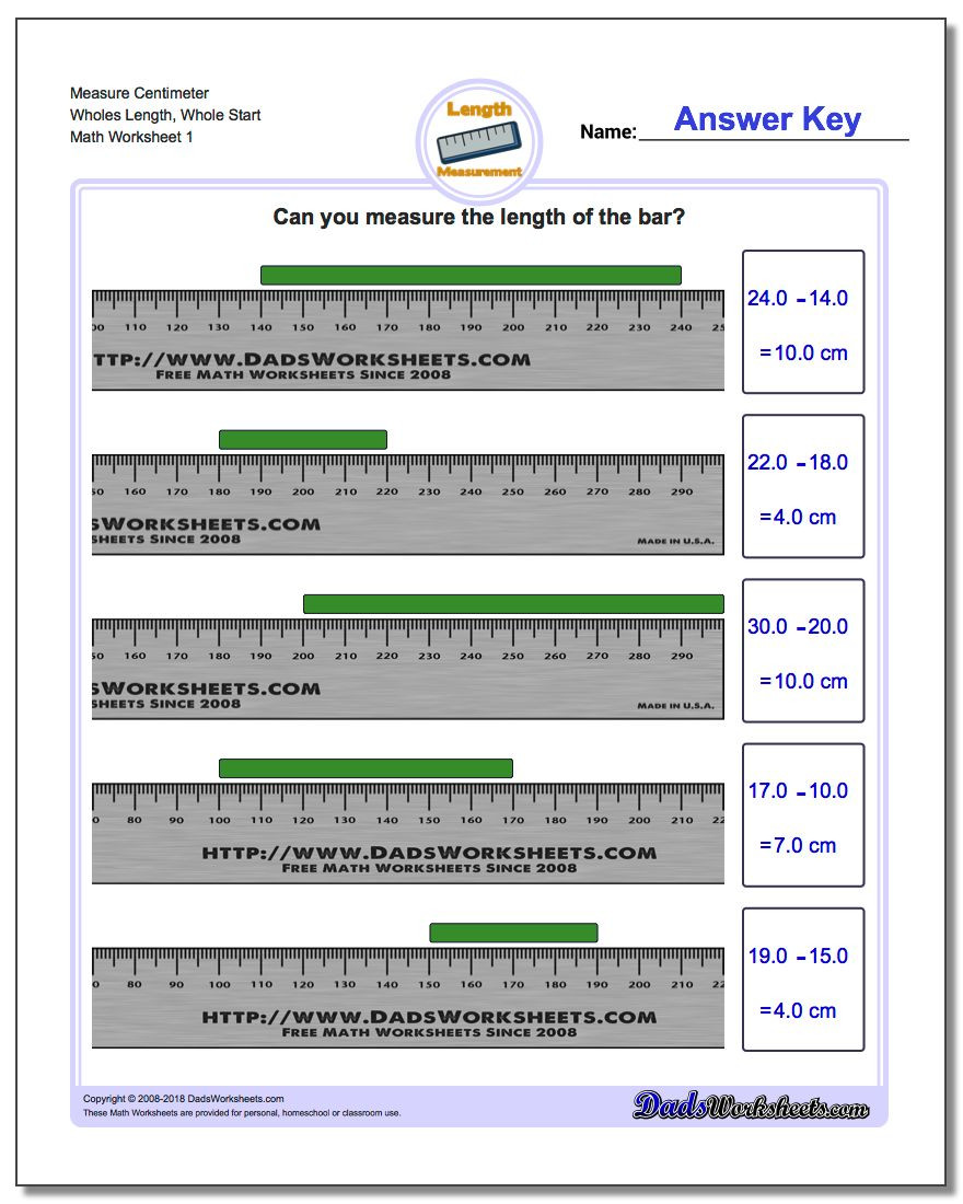 Reading A Spring Scale Worksheet Metric Measurement