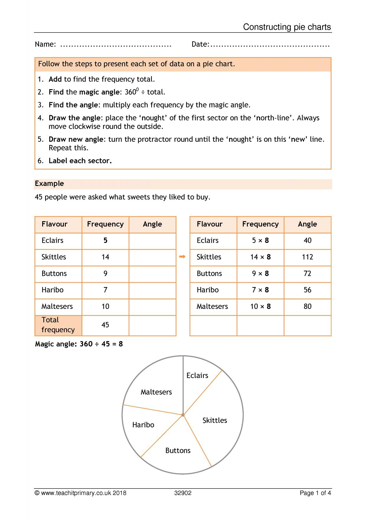 Reading Charts and Graphs Worksheets Ks1 Graphs and Charts