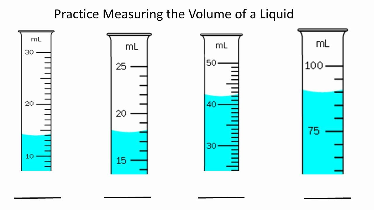 Reading Graduated Cylinders Worksheet Measuring Liquid Volume Worksheet Beautiful Volume Worksheet
