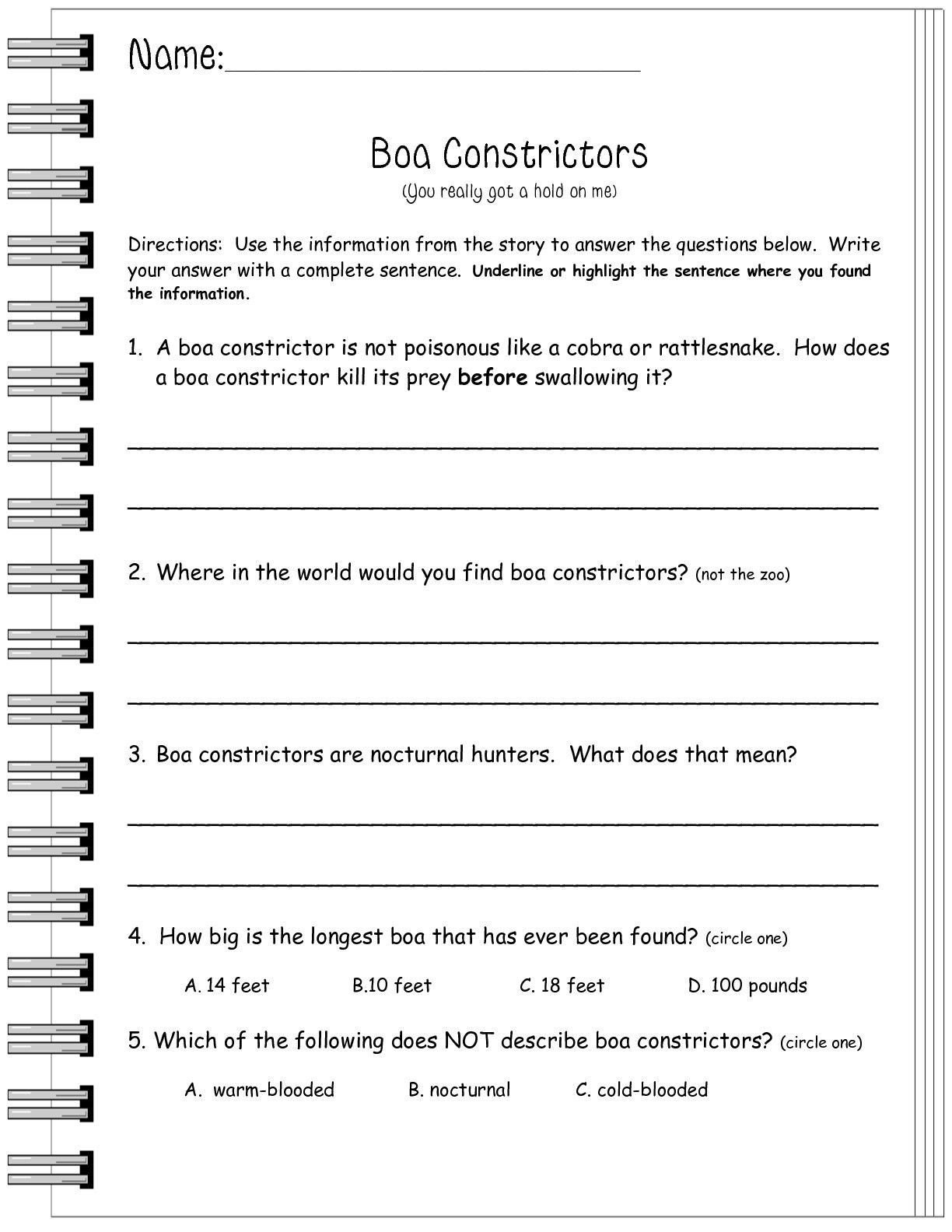 Reading Informational Text Worksheets Pin On Skill Activities Worksheet Template