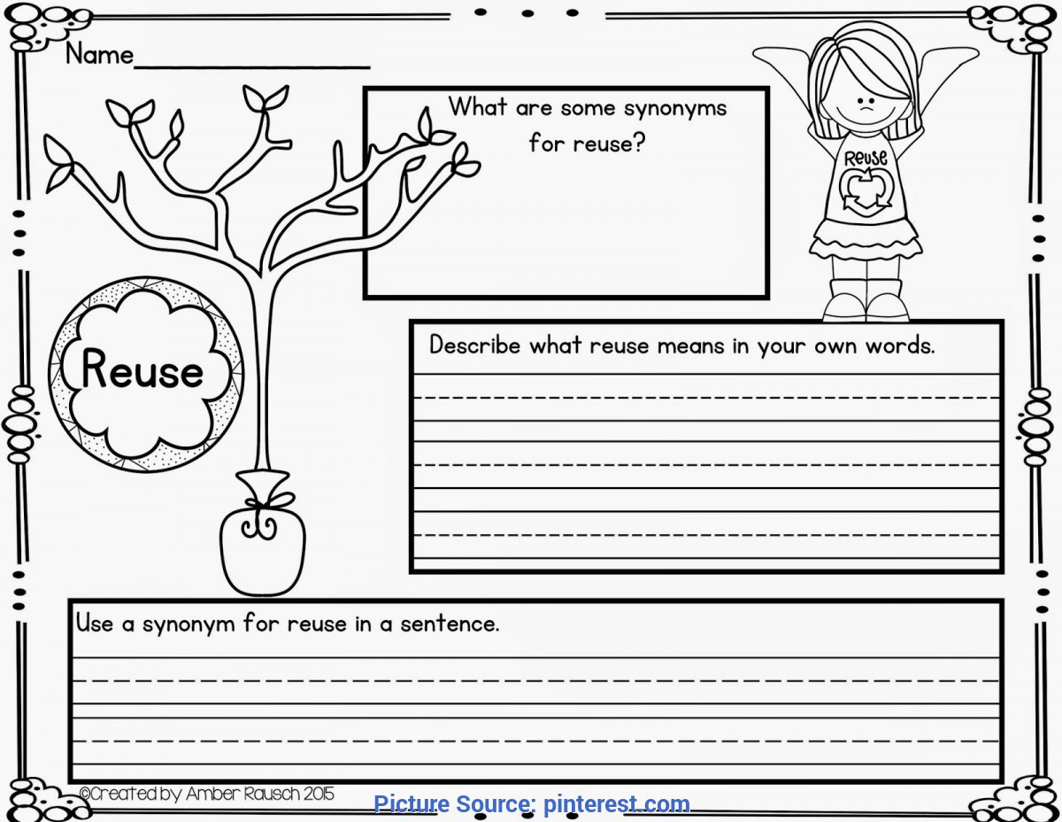 Recycling Worksheets for Preschoolers Valuable First Grade Lesson Plan Reduce Reuse Recycle the