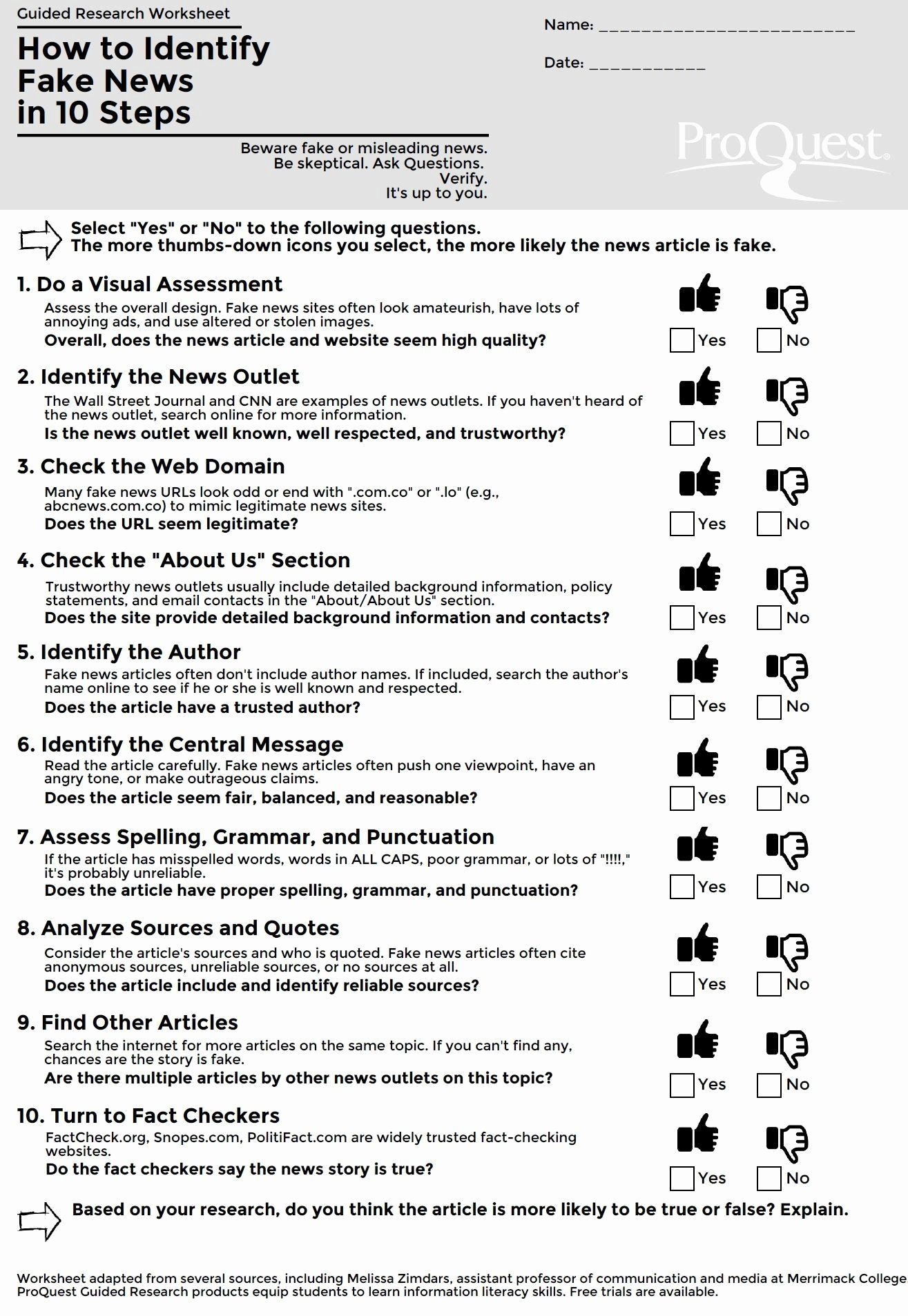 Reliable sources Worksheet Middle School 50 Cnn Students News Worksheet In 2020