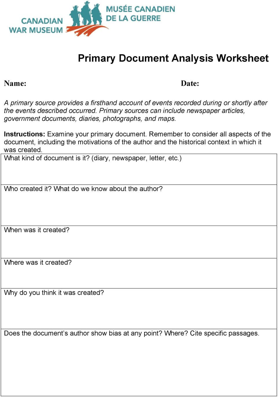 Reliable sources Worksheet Middle School Paring Primary and Secondary sources Lesson Plan Pdf