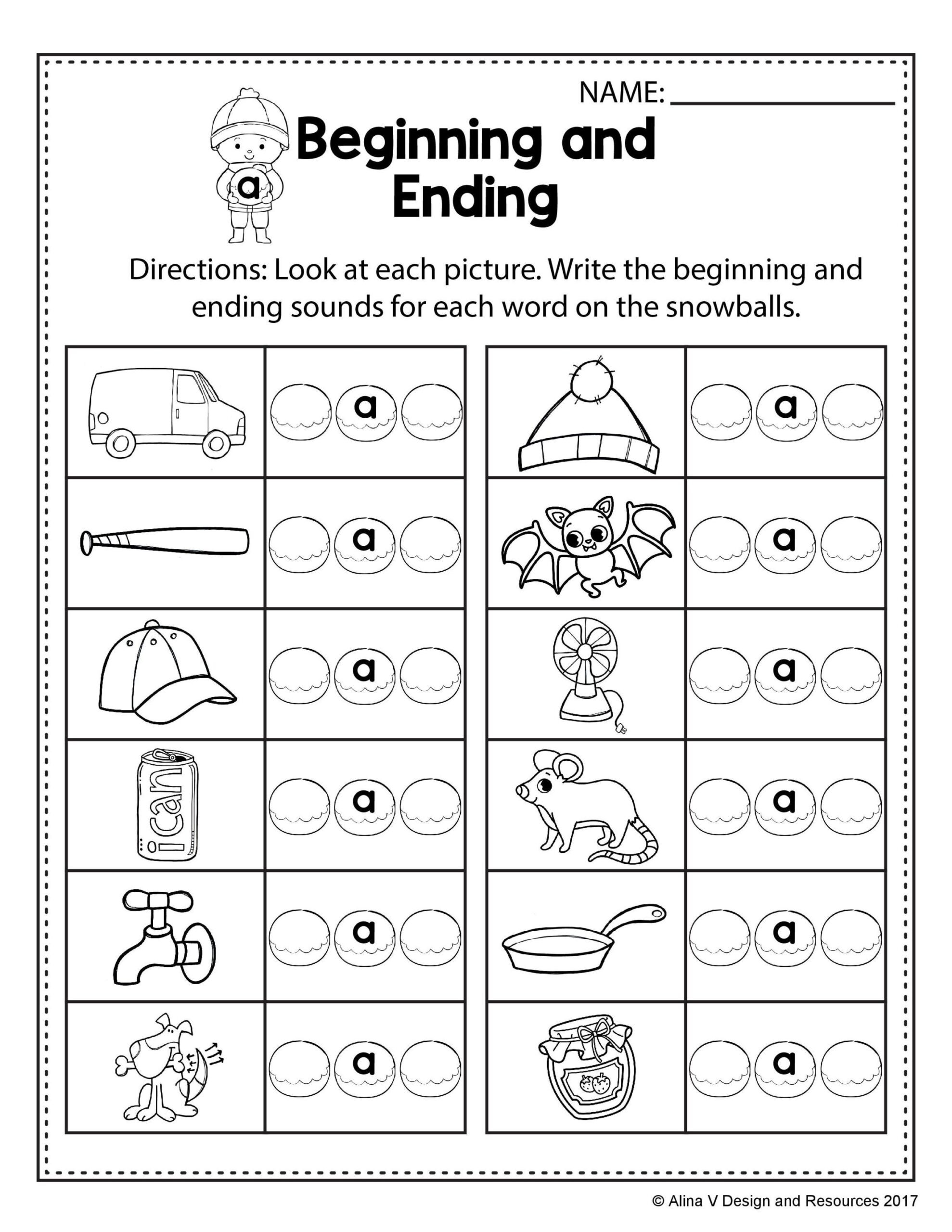 Rhyming Worksheets 1st Grade Free Winter Literacy Worksheet for Kindergarten No Prep