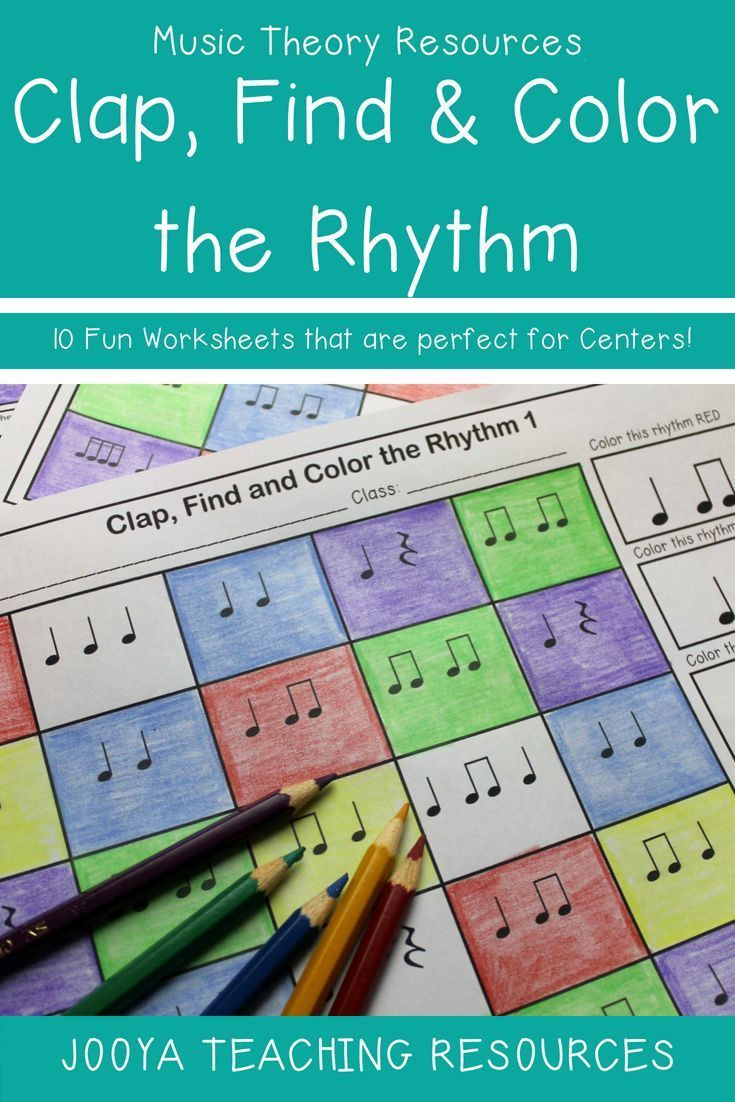 Rhythm Worksheets for Middle School Music Rhythm Worksheets 1
