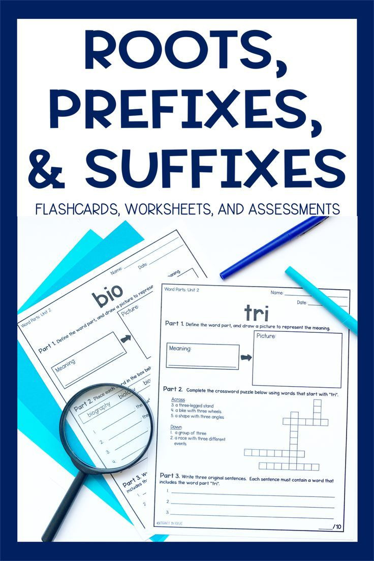 Root Word Worksheets Middle School Root Words Prefixes & Suffixes Units 1 12 Bundle