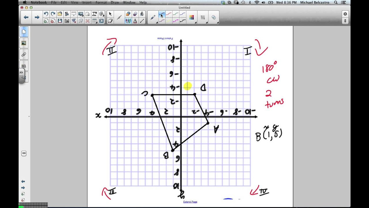 Rotations Worksheet 8th Grade Rotations Grade 8 Nelson Lesson 7 3 1 23 13