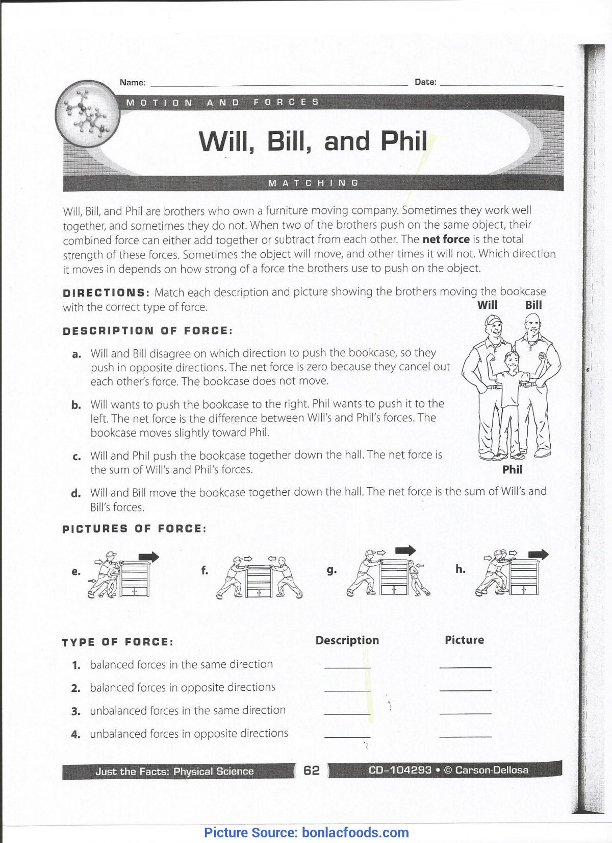 Scientific Method Worksheet 5th Grade Excellent 3rd Grade Lesson Plans force and Motion 5th