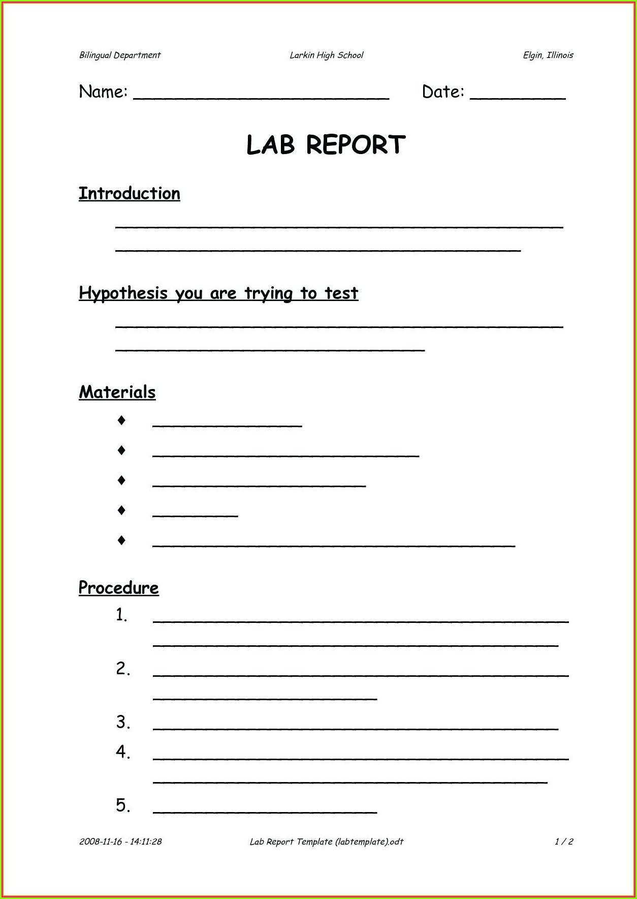 Scientific Method Worksheet 5th Grade High School Scientific Method Worksheet Printable Worksheets