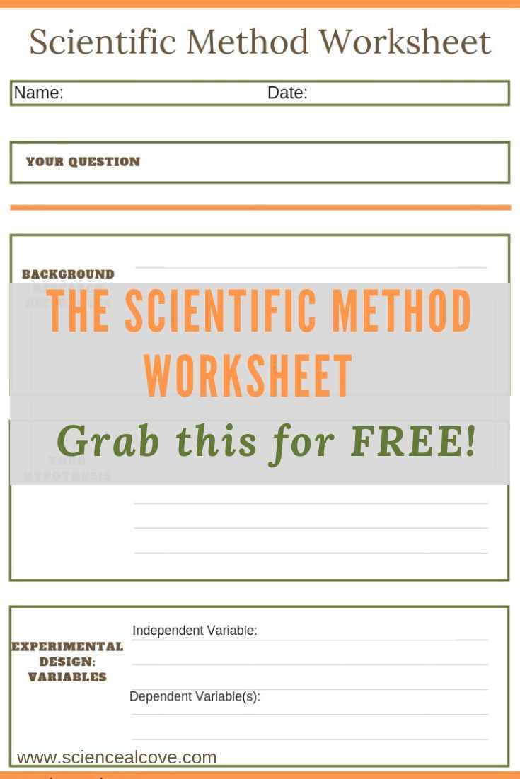 Scientific Method Worksheets High School 8 Steps Of the Scientific Method You Need to Know