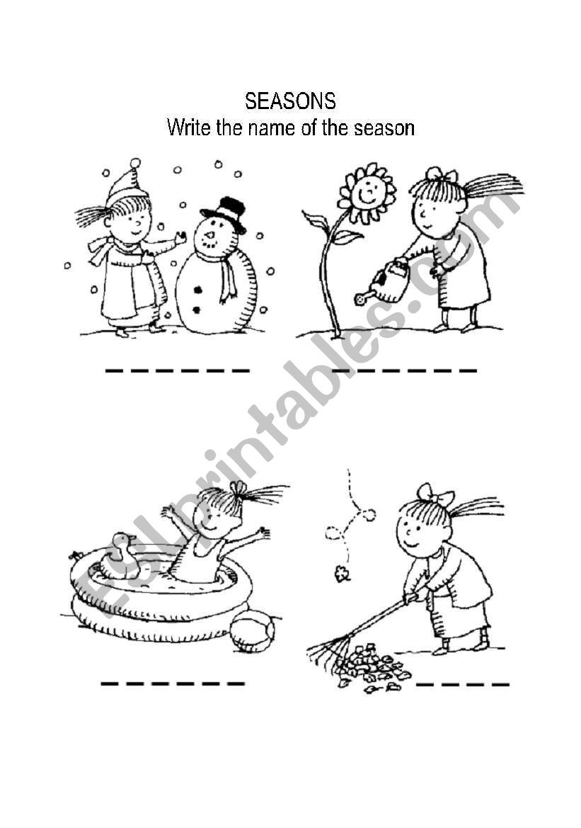 Seasons Worksheet Middle School Coloring Pages 1 Seasons Coloring Page Seasons Page
