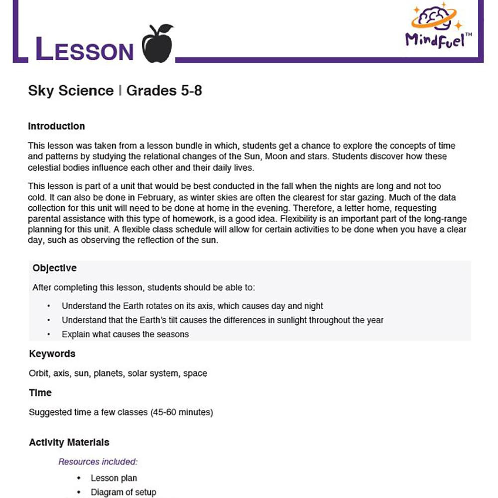 Seasons Worksheet Middle School Sky Science why Do We Have Seasons