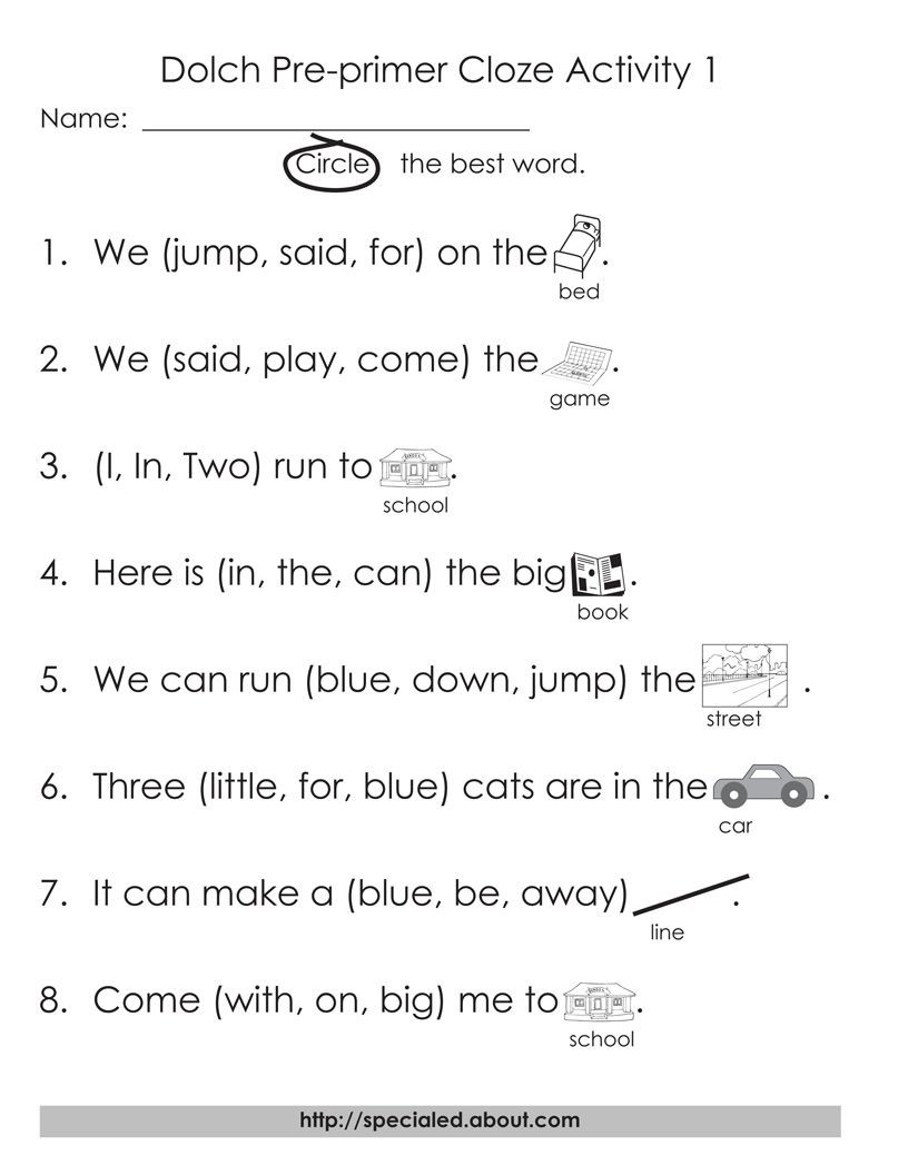 Second Grade Sight Words Worksheets Dolch High Frequency Words Free Printable Worksheets
