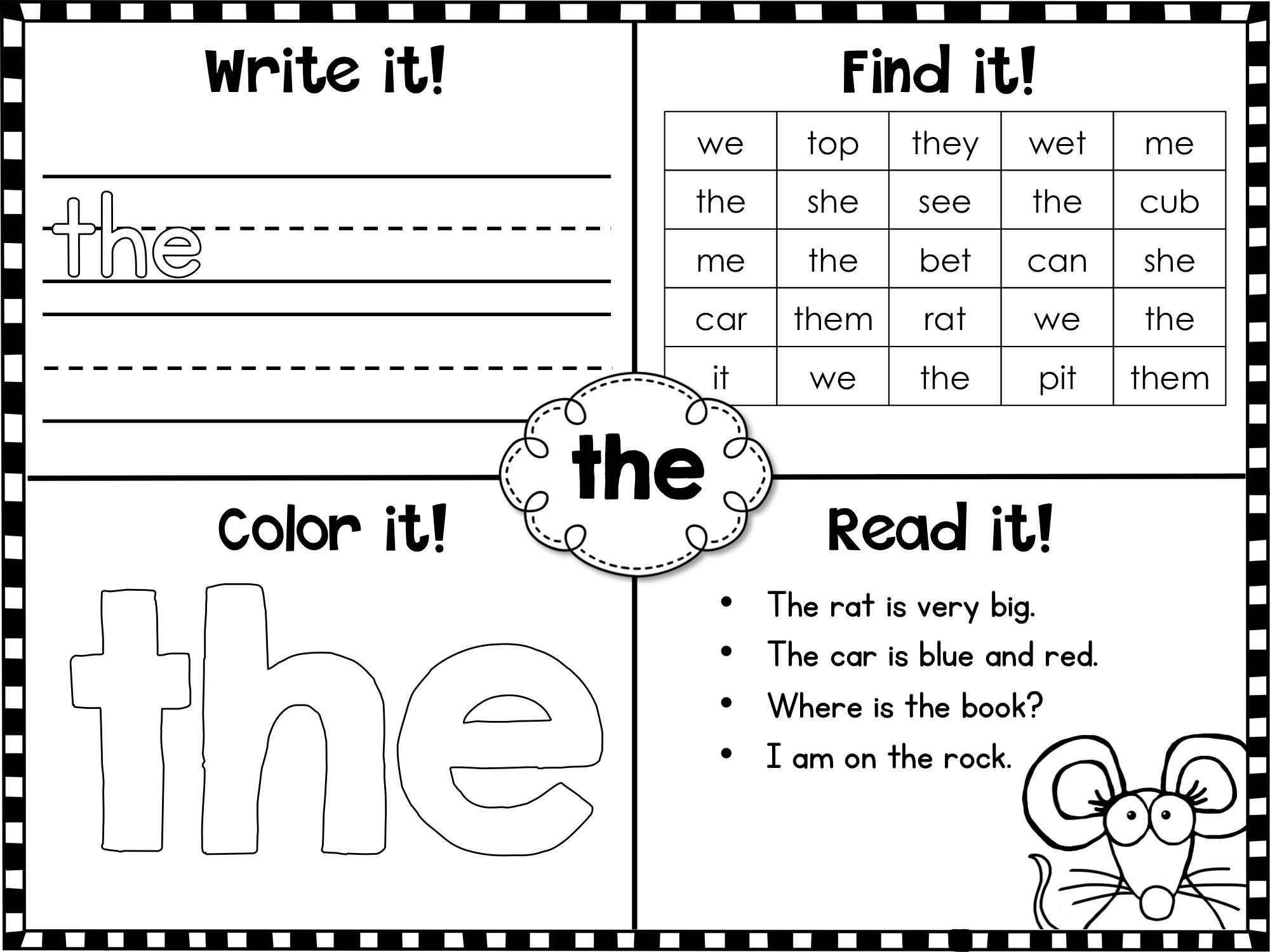 Second Grade Sight Words Worksheets Fry Sight Words First Printables Kindergarten Worksheets