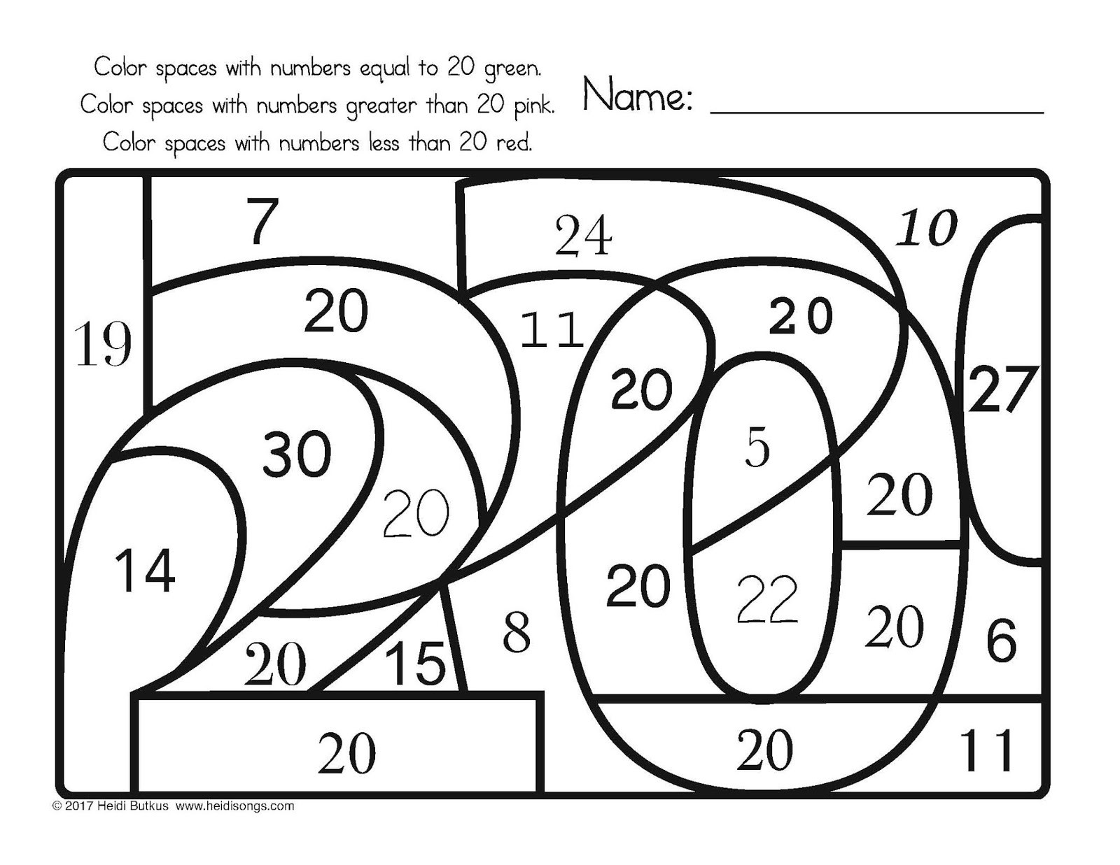 Secret Code Math Worksheets Find the Number Worksheets Secret Code From Hiddennumbers1