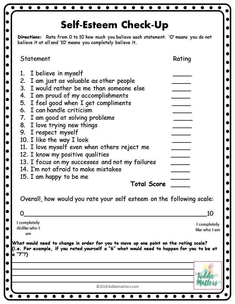 Self Esteem Printable Worksheets This Small Group Counseling Resource Contains Self Esteem