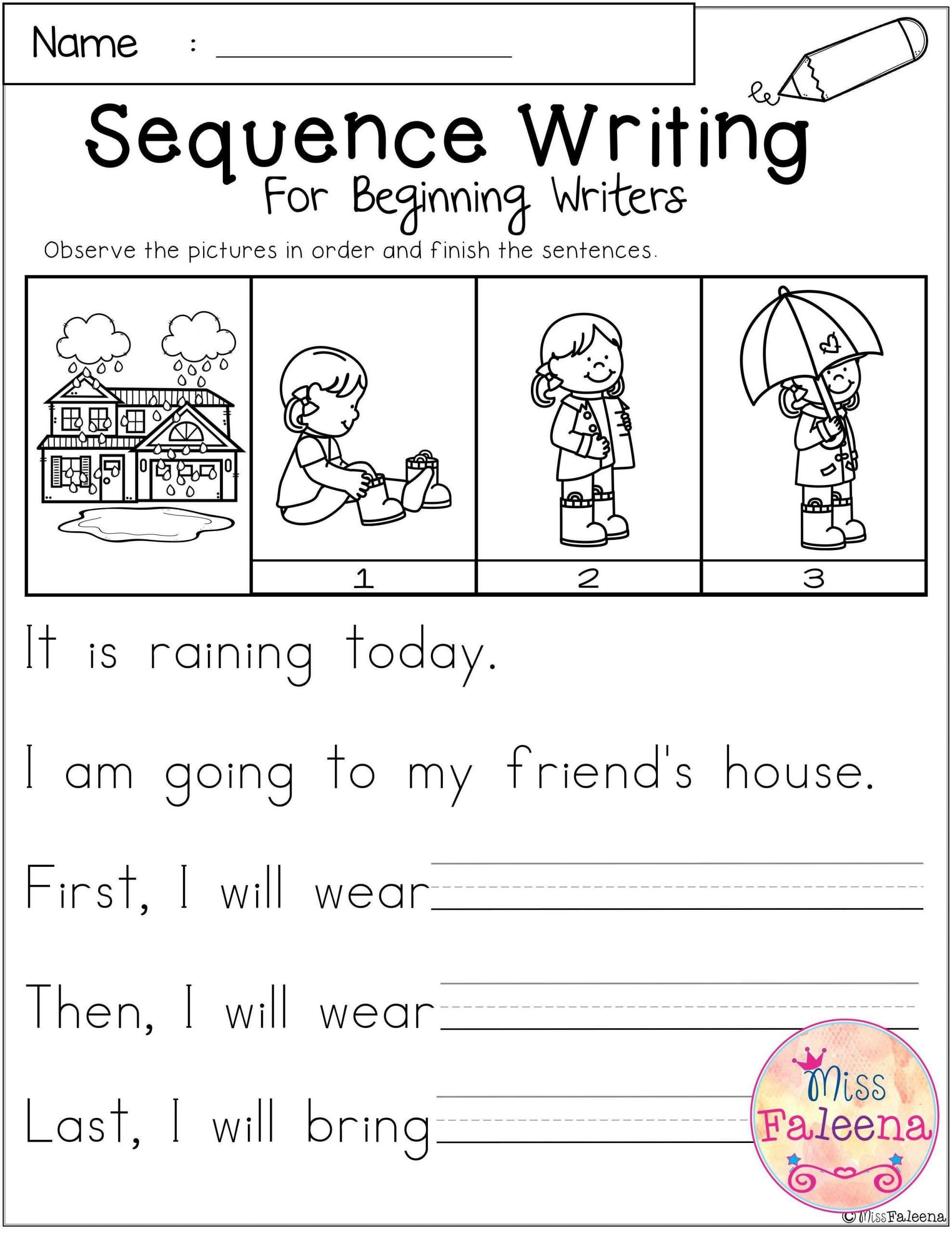 Sequencing Worksheets for 1st Grade Pin On Printable Worksheet for Kindergarten