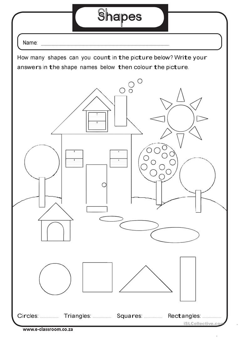 Shapes Worksheets 2nd Grade 2nd Grade Shapes Barbara Pentikis Lessons Tes Teach