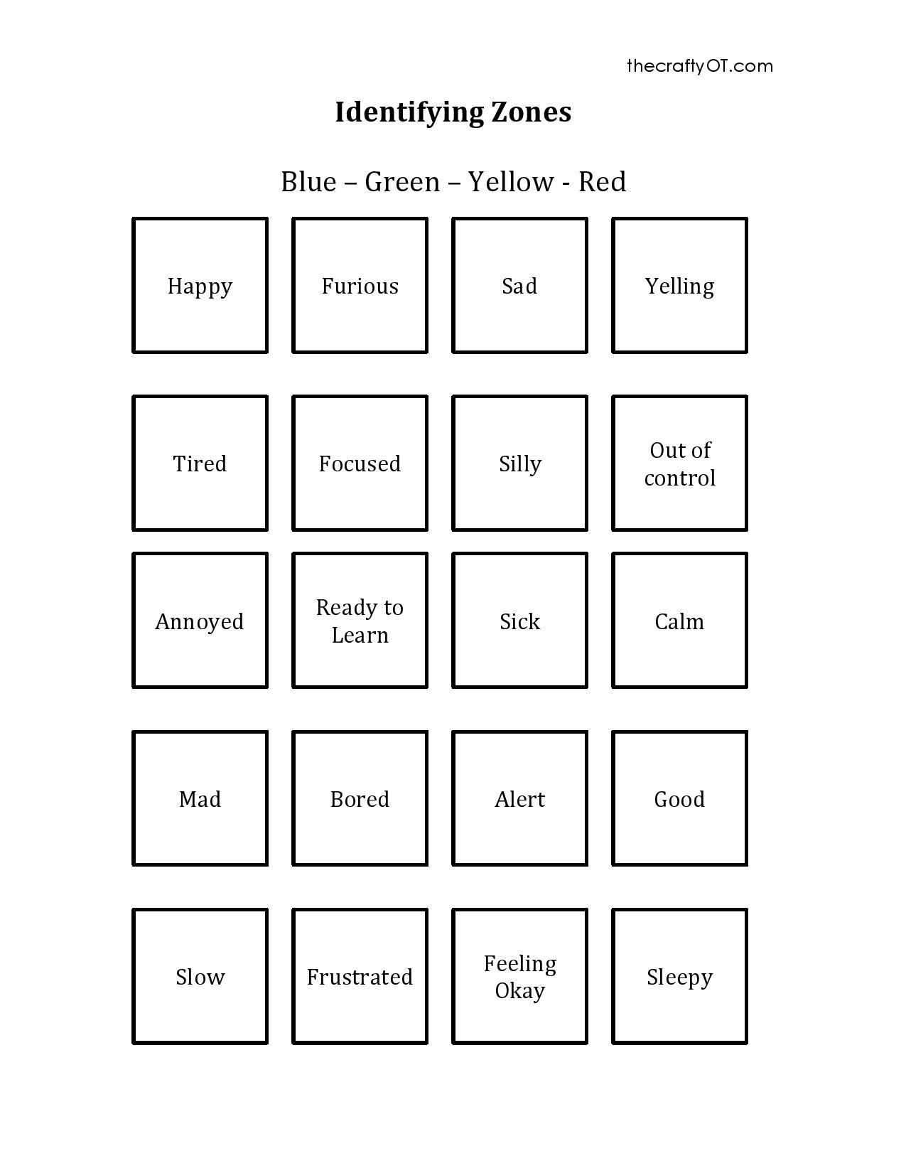 Social Skills Activities Worksheets Pin On Pediatric Ot