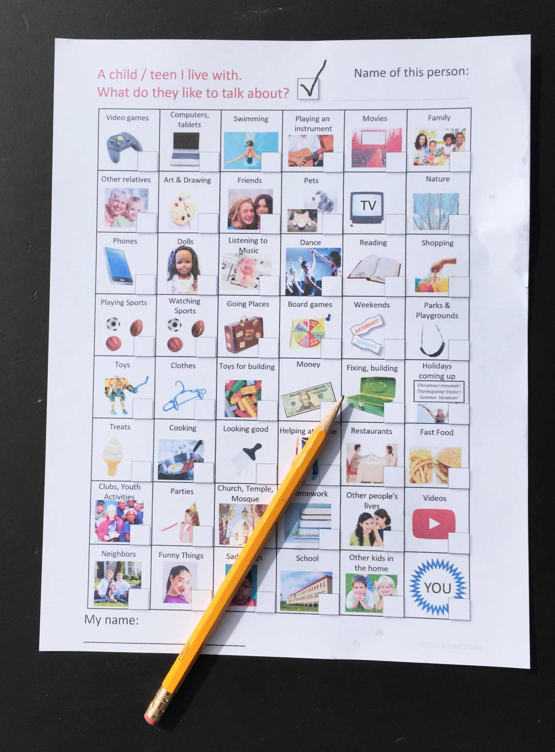 "Social Skills Worksheets for Autism Talk to Mom"" Illustrated social Skills Worksheets for Kids"