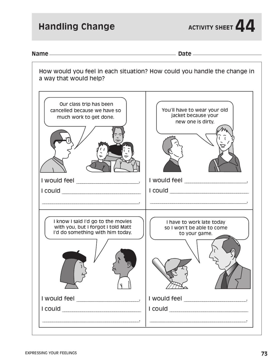 Social Skills Worksheets for Teens 101 Ways to Teach Children social Skills