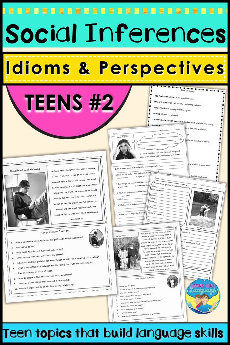 Social Skills Worksheets for Teens How to Improve social Skills that Teens Need for Life