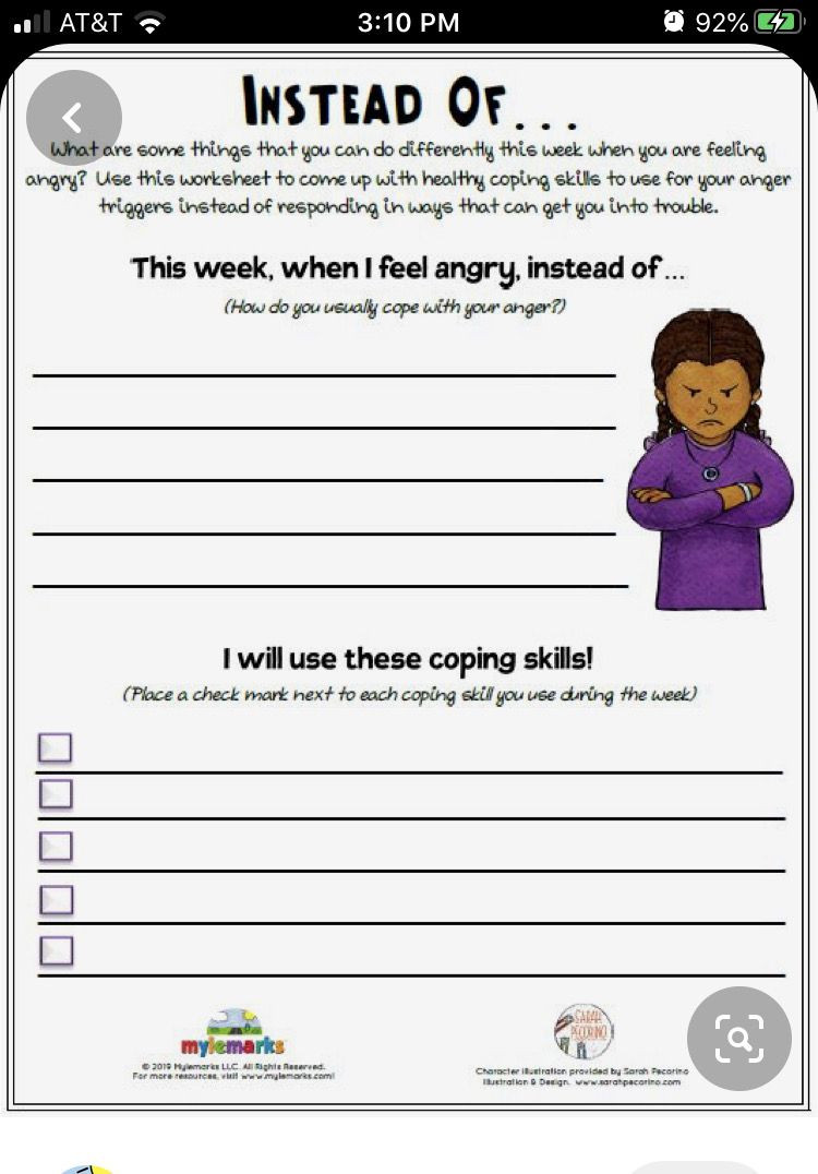 Social Skills Worksheets for Teens Pin by Patrice Stanley On Kids In 2020