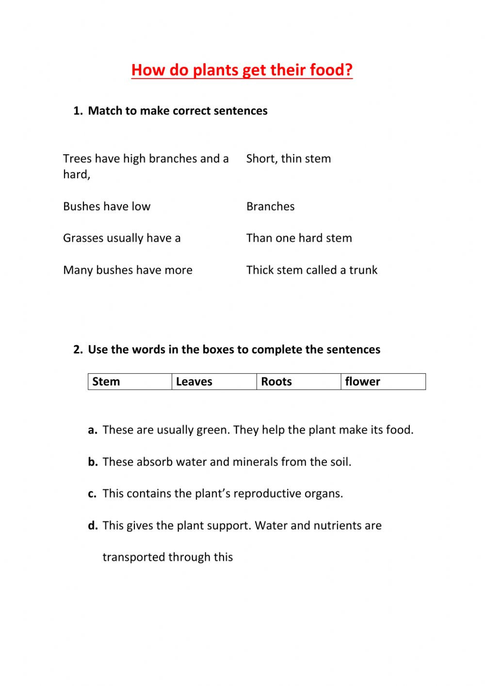 Soil Worksheets 3rd Grade 3rd Grade Naturales Unit 4 Interactive Worksheet
