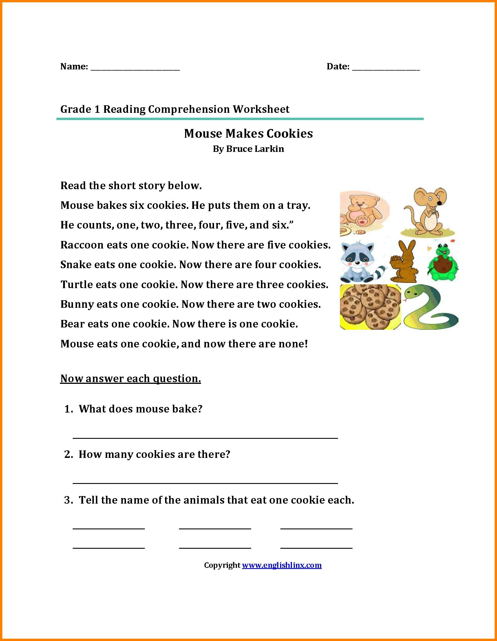 Spanish Reading Comprehension Worksheets 38 Innovative Reading Prehension Worksheets Design Ideas
