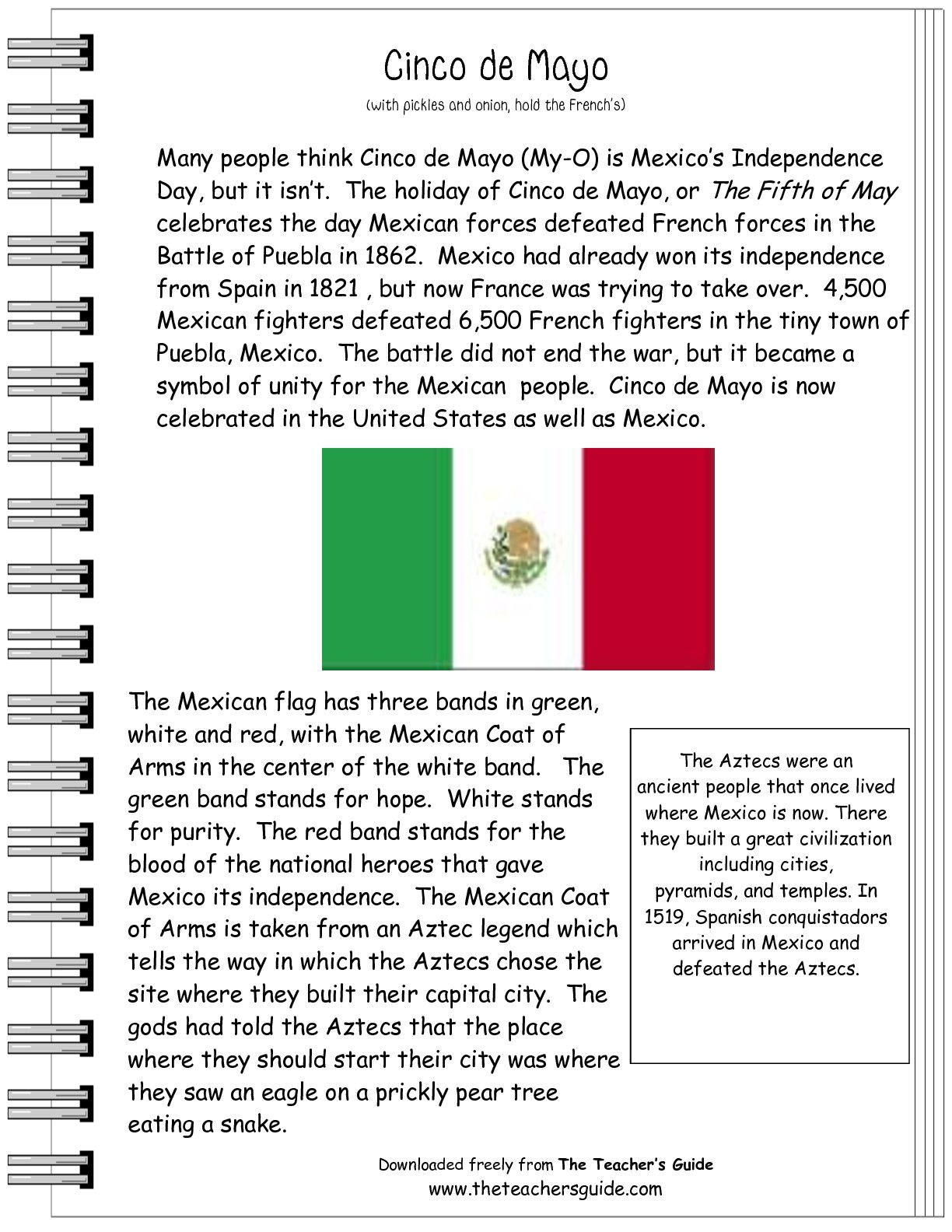 Spanish Reading Comprehension Worksheets Informational Text Worksheets and Printouts From the