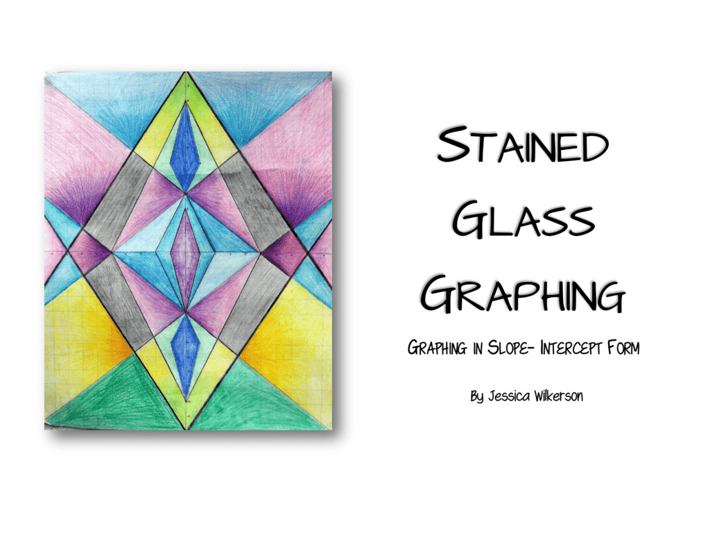 Stained Glass Blueprints Math Worksheet Stained Glass Task Worksheet Answer