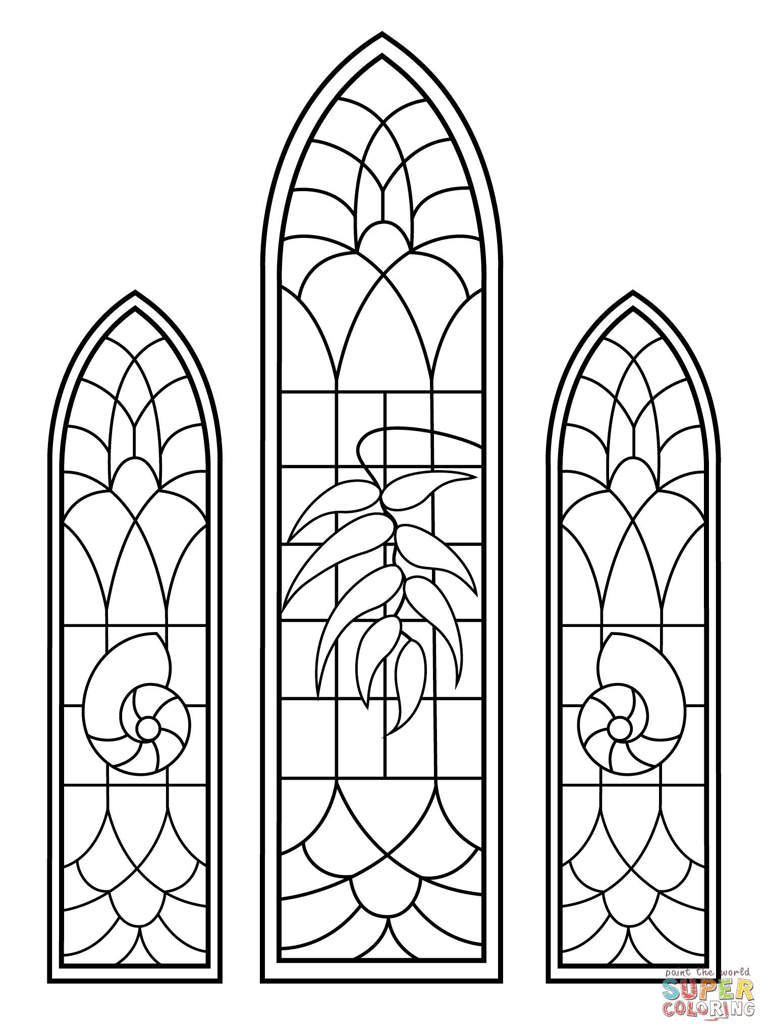 Stained Glass Blueprints Math Worksheet Windows Worksheets Download