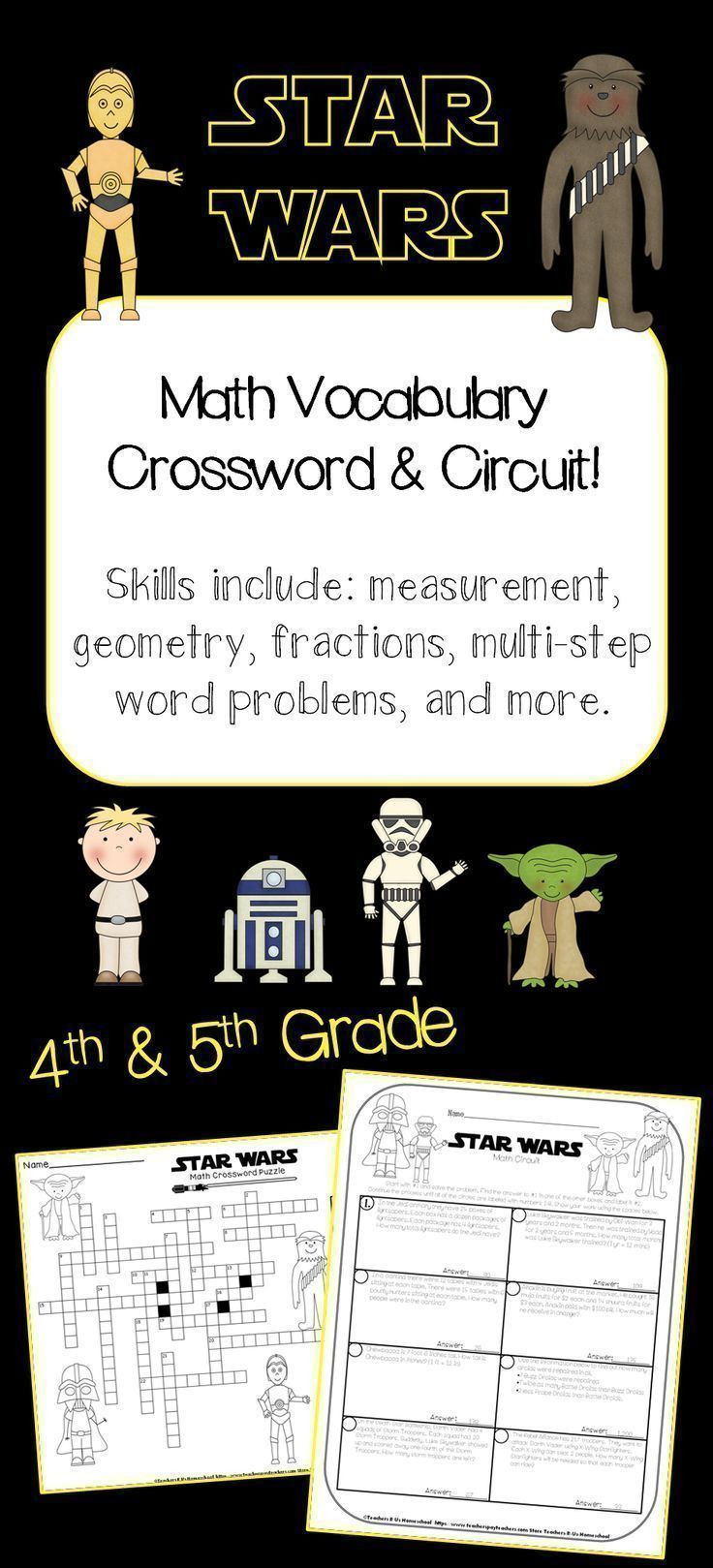 Star Wars Maths Worksheets May 4th is Star Wars Celebration Day these Math Activities