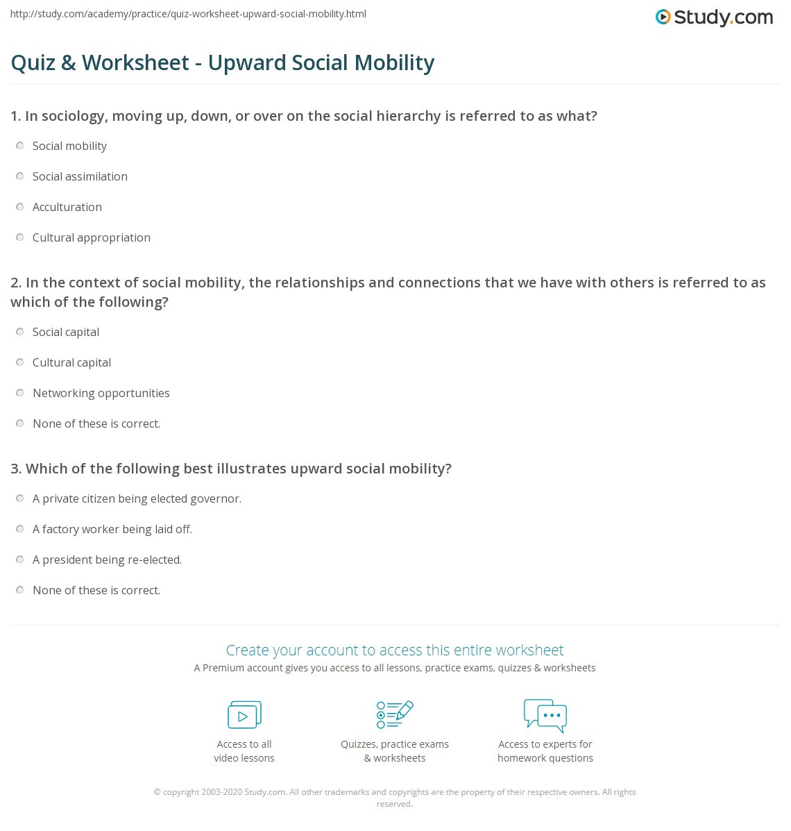 State and Capital Quiz Printable social Capital Worksheet