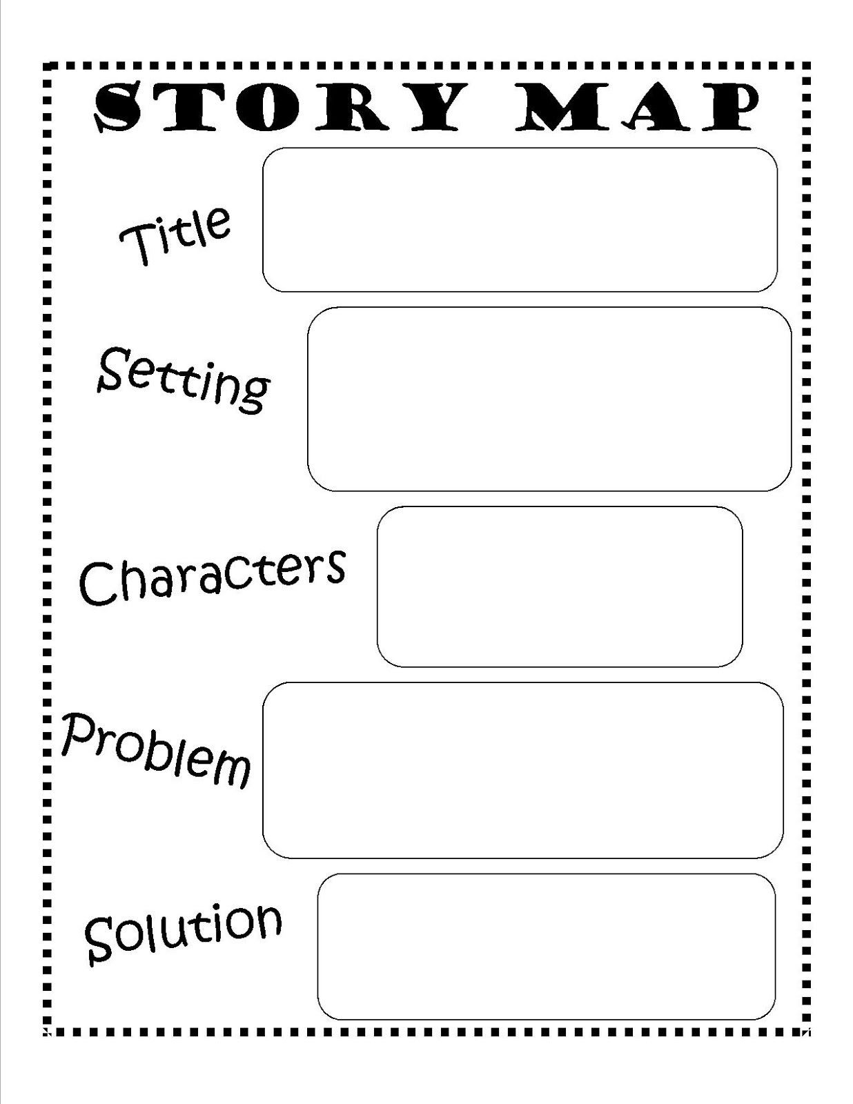 Story Elements Worksheet 2nd Grade Story Map Template Beginning Middle End Story Map Template