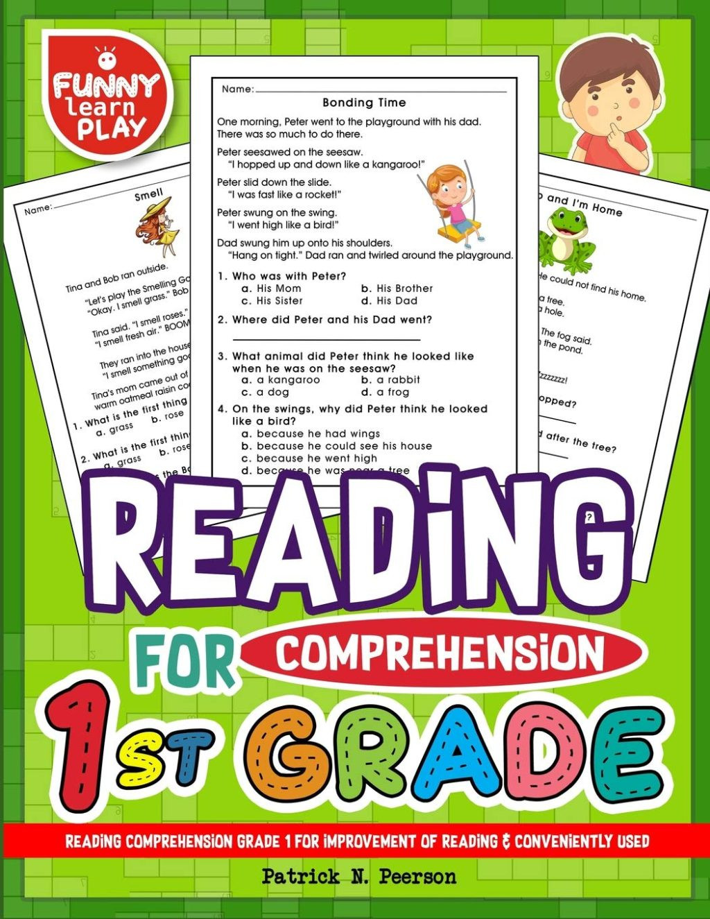 Superkids Reading Program Worksheets Worksheet 718jjkbkjsl Grade Reading Prehension Test