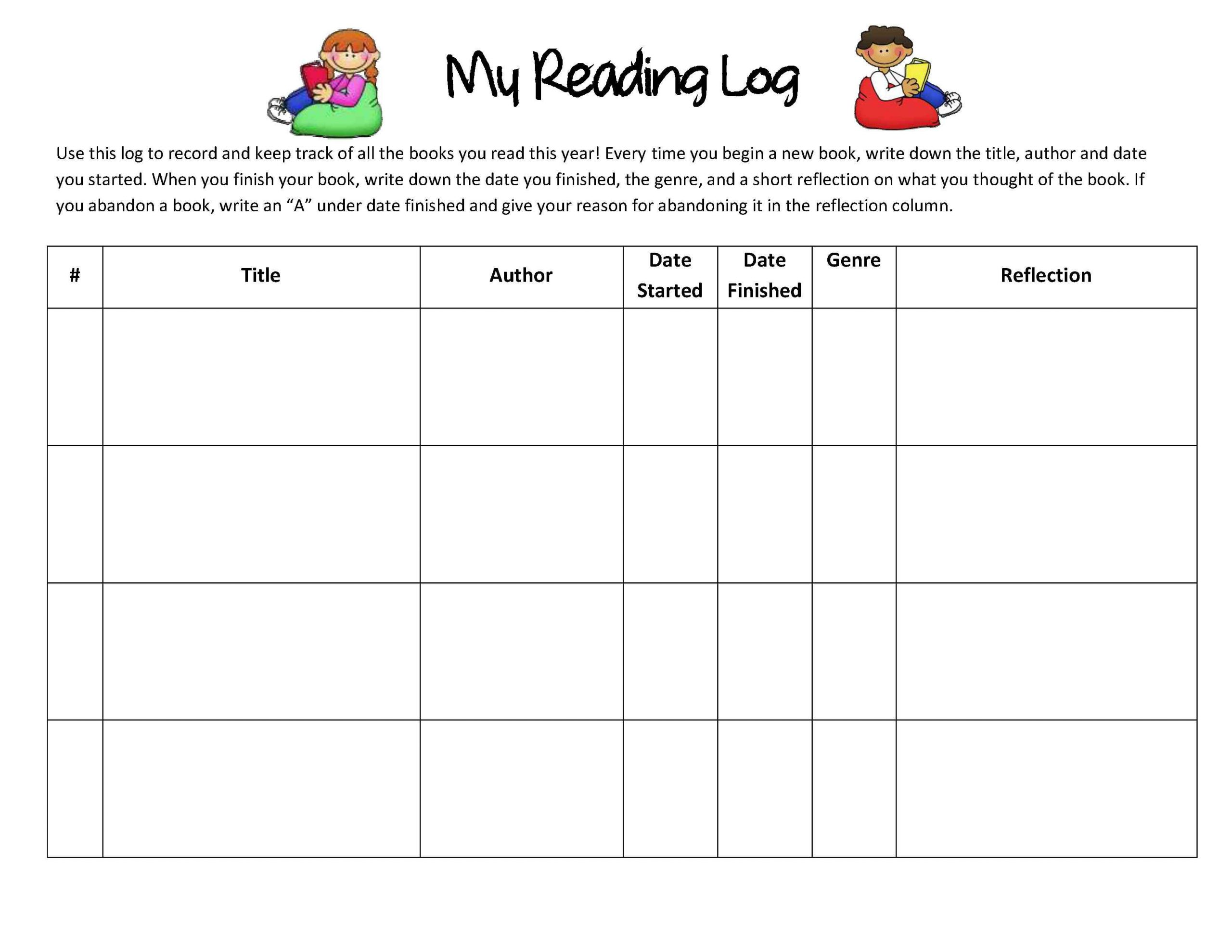 Sustained Silent Reading Worksheet Reading Response forms and Graphic organizers